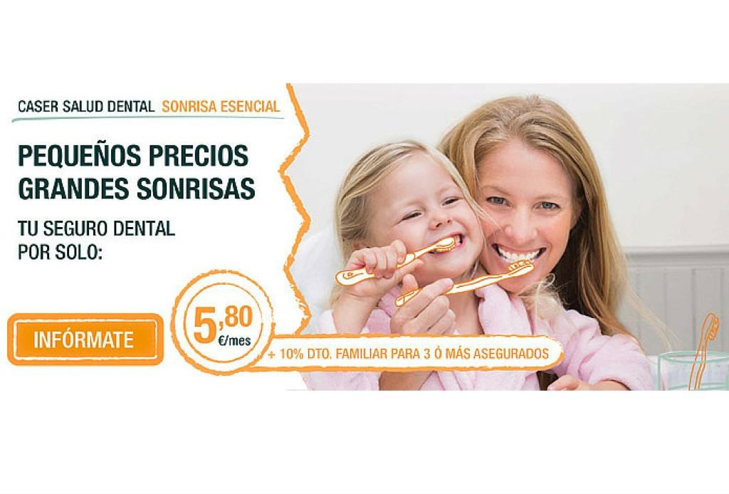 Tu seguro caser dental por tan solo 5 80 euros al mes kvilar agente caser - Seguro por meses ...