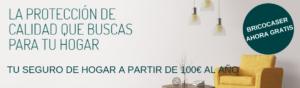 TU SEGURO DE HOGAR POR MENOS DE 100€ Y BRICOCASERAHORA GRATIS - KVILAR AGENTE EXCLUSIVO CASER TENERIFE