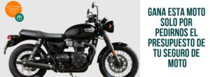 Sorteo de moto Seguro de Moto CASER - Kvilar Agente CASER Santa Cruz de Tenerife