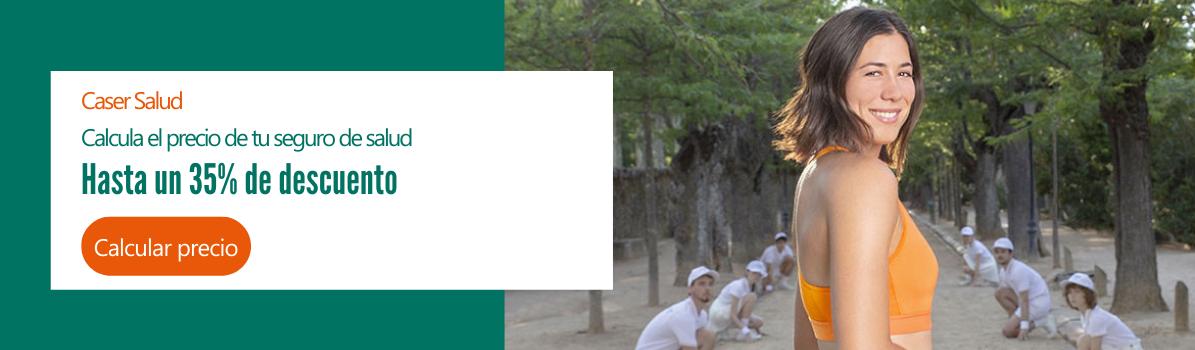 Seguro de Salud con un 35% de descuento | Kvilar Agente CASER Tenerife