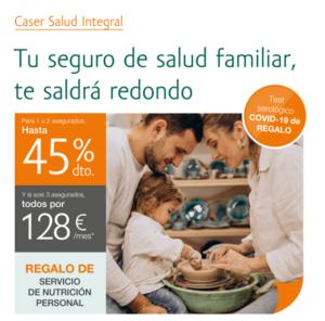 Seguro de Salud con un 45% de descuento   Kvilar Agente CA